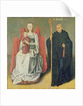 Virgin and Child with St. Benedict by French School