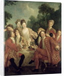 The Ham Lunch by Nicolas Lancret