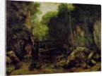 Le Puits-Noir, Doubs by Gustave Courbet