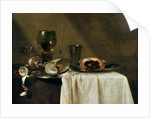 The Blackcurrant Tart by Willem Claesz. Heda