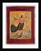 Icon depicting the Bird of Paradise by Russian School