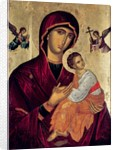 Icon depicting the Holy Mother of the Passion by Greek School