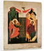 Icon depicting the Annunciation, Novgorod School by Russian School