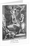 Don Juan and the Commendatore by engraved by Laurent Cars 1770