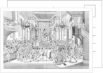 Celebration of the Goddess of Reason at Notre-Dame cathedral in Paris by Auguste Christian Fleischmann
