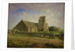 The Church at Greville by Jean-Francois Millet