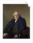 Louis-Francois Bertin 1832 by Jean Auguste Dominique Ingres