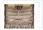 Louis XVIII at the Theatre de l'Odeon by Francois Buffet