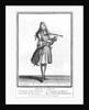 The dancing master by Nicolas Bonnart