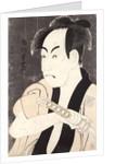 The actor Ichikawa Omezu in the role of the servant Yakko Ippei by Toshusai Sharaku