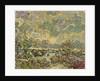 Autumn landscape by Vincent van Gogh