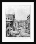 The Roman Forum of Antiquity by Theodor Josef Hubert Hoffbauer