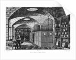 Basement of the Bank of France in Paris by Louis Joseph Amedee Daudenarde