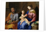 The Holy Family by Jacques Stella