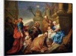 Adoration of the Magi by Jacques Stella