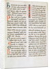 Fragment from a Cathar manuscript by French School