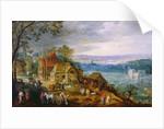 Landscape Scene by Tobias Verhaecht
