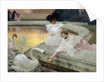 The Swans, 1900 by Joseph Marius Avy