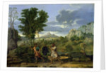 Autumn, or the Bunch of Grapes Taken from the Promised Land by Nicolas Poussin