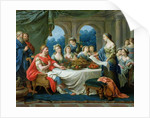 Esther and Ahasuerus by Francois Langrenee