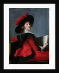 La Baronne de Crussol by Elisabeth Louise Vigee-Lebrun