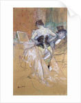 Woman at her Toilet, study for 'Elles' by Henri de Toulouse-Lautrec