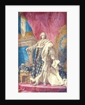 Louis XV in Coronation Robes by French School