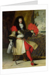 Seated Portrait of Louis XIV by French School