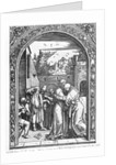 The meeting of St. Anne and St. Joachim at the Golden Gate by Albrecht Dürer or Duerer