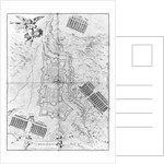 Plan and map of the town and citadel of Mont-Louis by French School