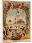 The Hungarian Pavilion at the Universal Exhibition of 1900, Paris by Fortune Louis Meaulle