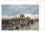 Bivouac at Le Bourget after the Battle of 21st December 1870 by Alphonse Marie de Neuville