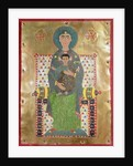 Virgin and Child Enthroned by Byzantine
