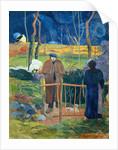 Bonjour, Monsieur Gauguin by Paul Gauguin