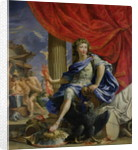 Louis XIV as Jupiter Conquering the Fronde by Charles Poerson