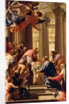 Presentation in the Temple by Simon Vouet
