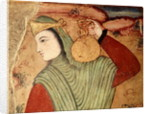 Man carrying wine from the Court of Shah Abbas I by Persian School