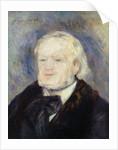 Portrait of Richard Wagner by Pierre Auguste Renoir