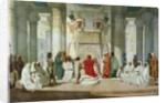 Joseph Explaining Pharaoh's Dreams by Jean Adrien Guignet