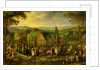 Country Life with a Wedding Scene by Jan the Elder Brueghel