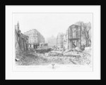 Building of Avenue de l'Opera, last demolitions by French School