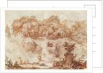 Gardens of the Villa d'Este by Jean-Honore Fragonard