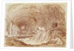 Stables of Maecenas at Tivoli by Jean-Honore Fragonard