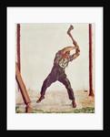 The Woodman by Ferdinand Hodler