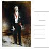 Study for the portrait of Felix Faure by Leon Joseph Florentin Bonnat