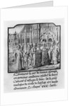 Marriage of Charles VI King of France and Isabella of Bavaria at Amiens by French School