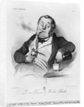 A true smoker by Honore Daumier