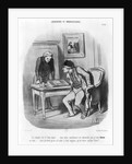 'Is it the right amount?' by Honore Daumier