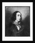Portrait of George Sand by Ferdinand Victor Eugene Delacroix