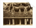 Monastery or Pagoda, detail, probably Mandalay by Unknown